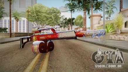 Vindi Xmas Weapon 5 para GTA San Andreas