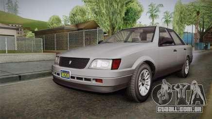 GTA 5 Vulcar Ingot Sedan IVF para GTA San Andreas