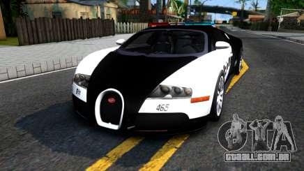 Bugatti Veyron NFS HP Police para GTA San Andreas