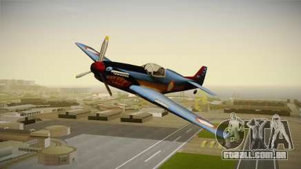 Rustler Indonesian Air Force v1 para GTA San Andreas