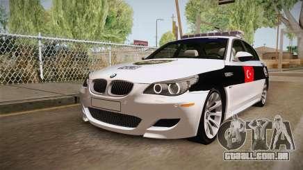 BMW M5 E60 Turkish Police para GTA San Andreas
