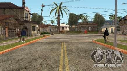 Defensores da Grove ST para GTA San Andreas