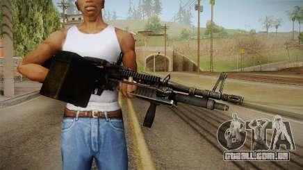M60 Machine Gun para GTA San Andreas