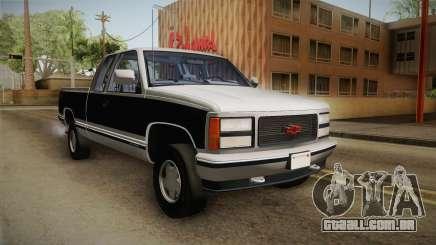 Chevrolet Silverado 1992 para GTA San Andreas