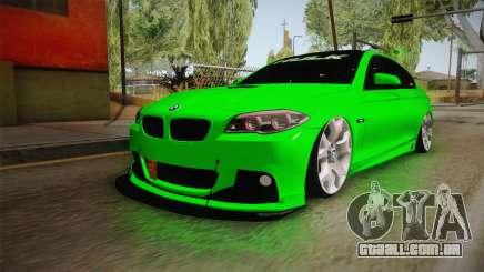 BMW M5 F10 Hulk para GTA San Andreas