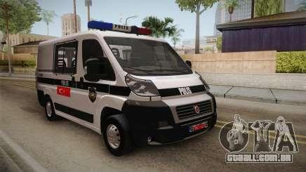 Fiat Ducato Police para GTA San Andreas