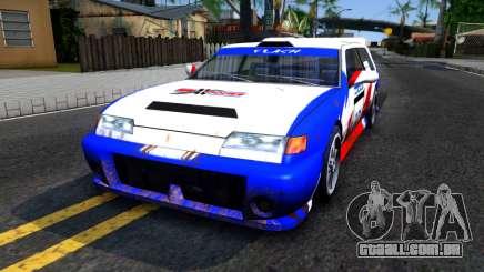 Flash Rally Paintjob para GTA San Andreas