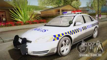 Chevrolet Impala Police Malaysia para GTA San Andreas