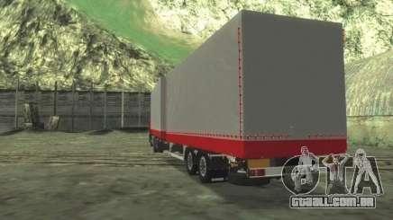 Trailer Chereau para o HOMEM F2000 para GTA San Andreas