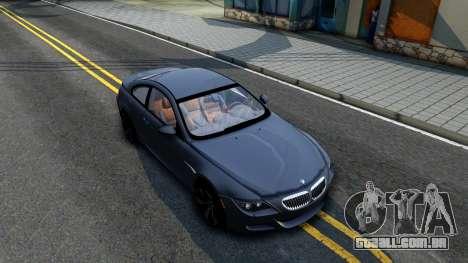 BMW M6 2005 para GTA San Andreas
