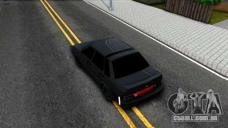 2115 para GTA San Andreas vista traseira