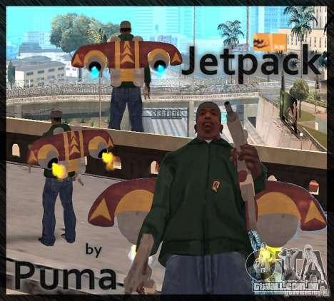 Um novo Jetpack para GTA San Andreas segunda tela