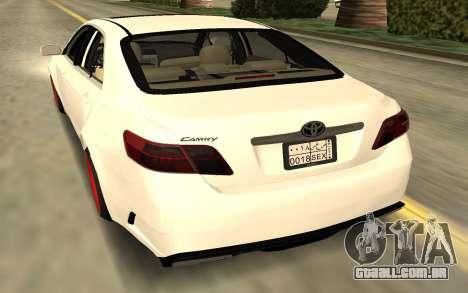 Toyota Camry V40 Sport para GTA San Andreas