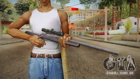 Survarium - Remington 700 para GTA San Andreas