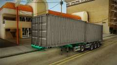 Trailer Container v1 para GTA San Andreas