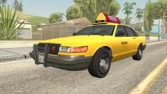 GTA 4 Taxi Car