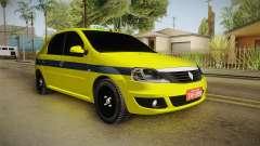 Renault Logan Taxi of Rio de Janeiro para GTA San Andreas