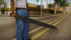 The Elder Scrolls V: Skyrim - Steel Sword para GTA San Andreas