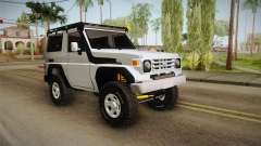 Toyota Land Cruiser Machito para GTA San Andreas