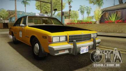 Chevrolet Caprice Taxi 1986 para GTA San Andreas
