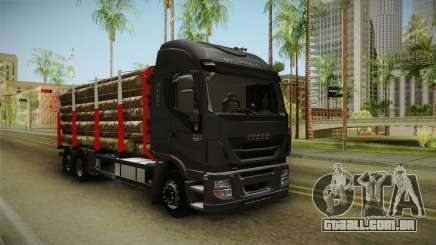 Iveco Stralis Hi-Way 560 E6 6x2 Timber v3.0 para GTA San Andreas