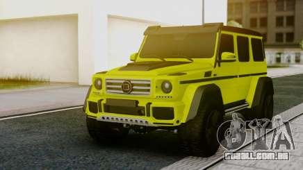 Mercedes-Benz G63 4x4 para GTA San Andreas
