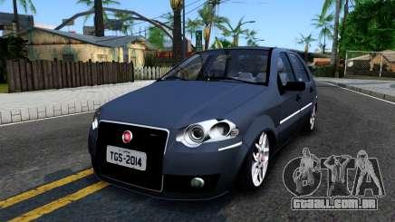 Fiat Siena turquesa para GTA San Andreas