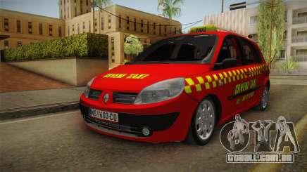 Renault Scenic Mk2 Crveni Taxi para GTA San Andreas