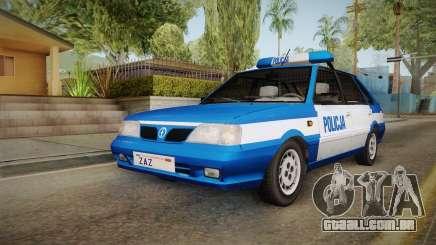 Daewoo-FSO Polonez Caro Plus Policja 2 1.6 GLi para GTA San Andreas