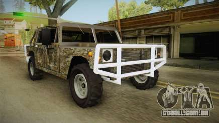 New Patriot Hummer para GTA San Andreas