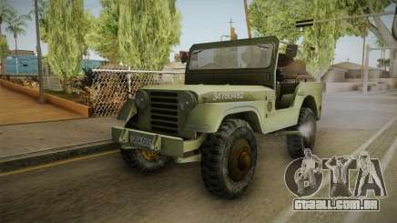 Jeep from The Bureau XCOM Declassified v2 para GTA San Andreas