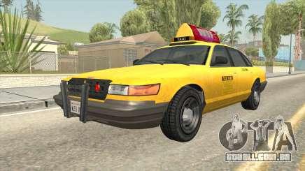 GTA 4 Taxi Car para GTA San Andreas