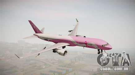 Boeing 757-200 Northwest Airlines Breast Cancer para GTA San Andreas