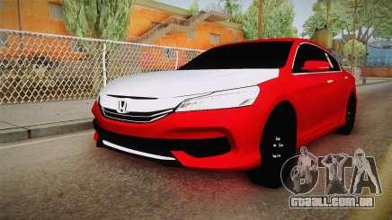 Honda Accord 2017 Hajwalla para GTA San Andreas