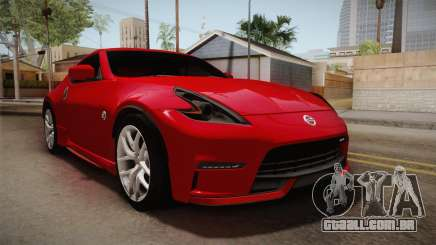 Nissan 370Z Nismo 2016 SA Plate para GTA San Andreas