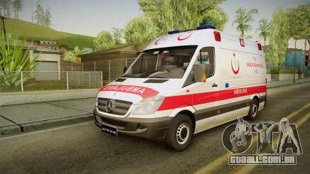 Mercedes-Benz Sprinter Turkish Ambulance para GTA San Andreas