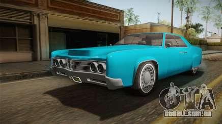 GTA 5 Albany Virgo Continental IVF para GTA San Andreas