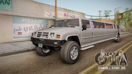 GTA 5 Mammoth Patriot Limo IVF para GTA San Andreas
