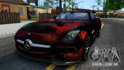 Mercedes-Benz SLS AMG Space para GTA San Andreas