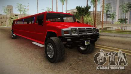 GTA 5 Mammoth Patriot Limo para GTA San Andreas