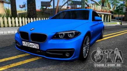 BMW 520i F10 para GTA San Andreas