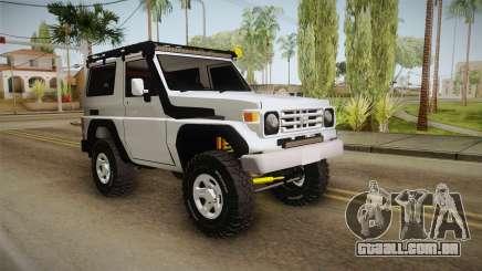 Toyota Land Cruiser Machito para GTA San Andreas