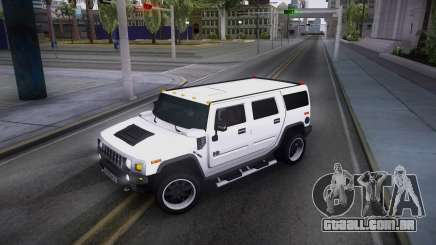 Hummer H2 Loud Sound Quality para GTA San Andreas