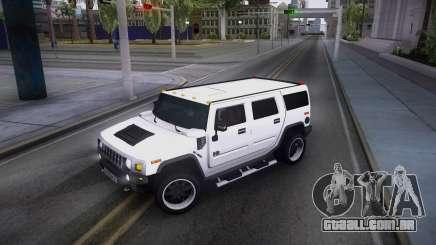 Hummer H2 Loud Sound Quality para GTA San Andreas