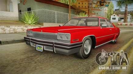 GTA 5 Albany Manana 4-doors para GTA San Andreas