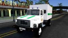 GAZ-3309 da penitenciária Federal de serviço da