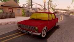 VAZ 2101 Borgonha para GTA San Andreas
