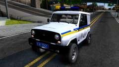 UAZ Caçador de Polícia da Ucrânia para GTA San Andreas