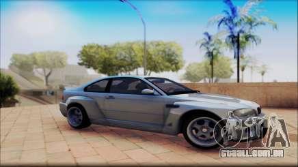 BMW M3 CSL Е46 para GTA San Andreas