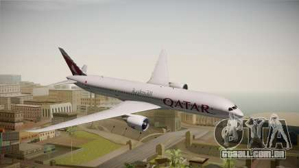 Boeing 787 Qatar Airways para GTA San Andreas